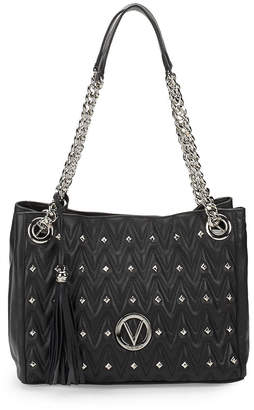 Mario Valentino Valentino By Luisa Studded Chain Shoulder Bag
