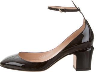 ValentinoValentino Patent Leather Tan-Go Pumps