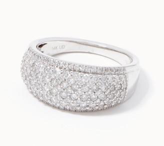 Affinity Diamond Jewelry Affinity 14K Gold Diamond Band Ring, 1.00cttw
