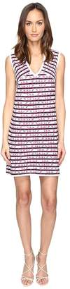 M Missoni Broken Zigzag V-Neck Dress Women's Dress