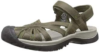 KEEN Women's Rose Leather Sandal $51.69 thestylecure.com