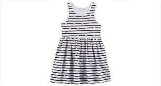 Freestyle Revolution Toddler Girls' Sleeveless Knit Fit & Flare Dress