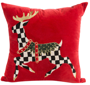 Mackenzie Childs Prancer Pillow