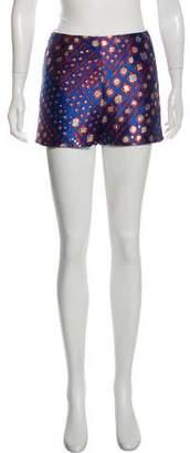 Roseanna Brocade High-Rise Shorts w/ Tags