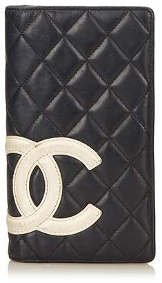 Chanel Vintage Cambon Ligne Long Wallet