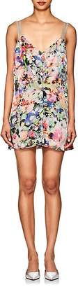 Y/Project Women's Floral Charmeuse Minidress