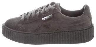 FENTY PUMA by Rihanna Velvet Creeper Low-Top Sneakers