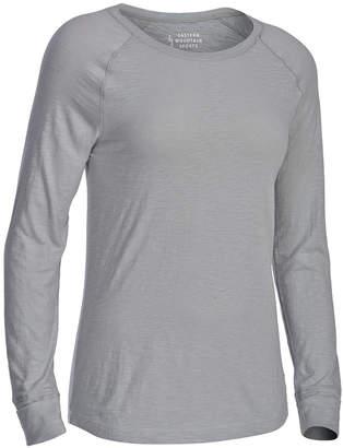 Eastern Mountain Sports Ems Women's Solid Organic Slub Long-Sleeve Tee