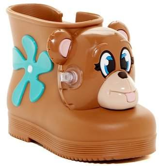 Mini Melissa X Jeremy Scott Monkey Water Resistant Boot (Toddler) $85 thestylecure.com
