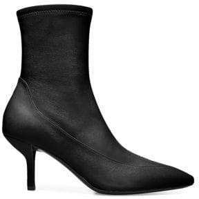 Diane von Furstenberg Morgan Stretch Leather Booties