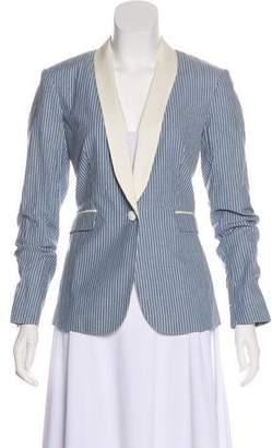Rag & Bone Notch-Lapel Button-Up Blazer