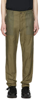 Rag & Bone Green Field Trousers