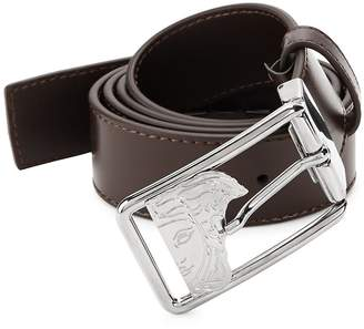 Versace Men's Medusa Leather Belt