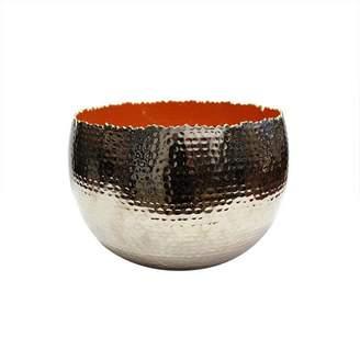 Mela Artisans Holi Extra Large Orange Bowl