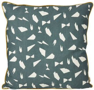 FERM LIVING Mini Cotton Printed Cushion 50x50 cm $79.20 thestylecure.com