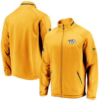 Majestic Men Nashville Predators Rinkside Authentic Pro Jacket