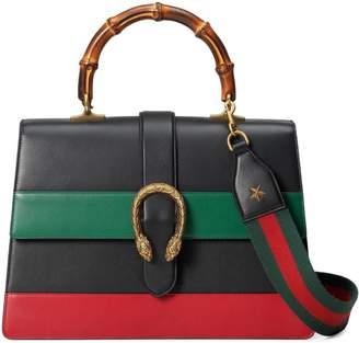 Gucci Dionysus leather top handle bag