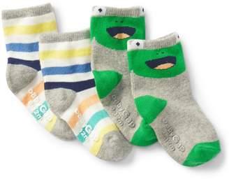 Gap Graphic Crew Socks (2-Pairs)
