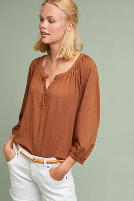 Velvet by Graham & Spencer Lindsey Henley Top