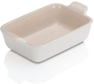 Le Creuset Stoneware Deep Rectangular Dish - 19cm - Cotton