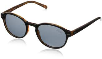 Original Penguin Men's The Redding Polarized Round Sunglasses