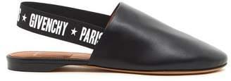 Givenchy Paris Logo Sling Back Mules