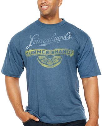 Novelty T-Shirts Leinenkugels Summer Shandy Short Sleeve Graphic T-Shirt-Big and Tall