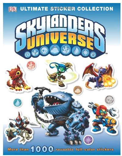 DK Publishing Ultimate Sticker Collection: Skylanders Universe