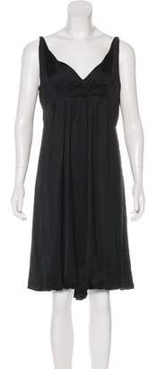 Narciso Rodriguez V-Neck Sleeveless Dress