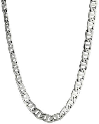 JCPenney FINE JEWELRY Mens Stainless Steel 24 10mm Marine Link Chain
