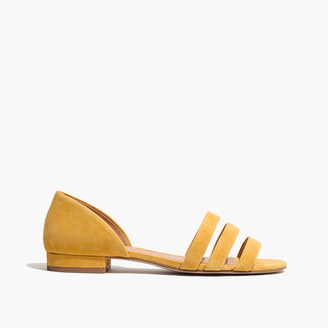 The Leila Sandal in Suede $98 thestylecure.com