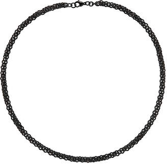 FINE JEWELRY Mens Stainless Steel Black Ip-Plated Chain Necklace