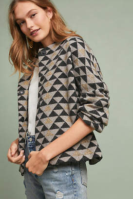 Sita Murt Geometric Sweater Cardigan