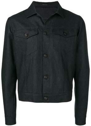 Tagliatore straight-fit jacket