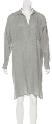 James Perse Midi Shirt Dress