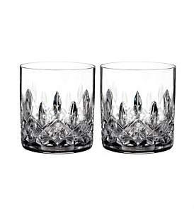 Waterford Crystal Wf Lismore Classic Sw Strght Tumb Pr 7Oz