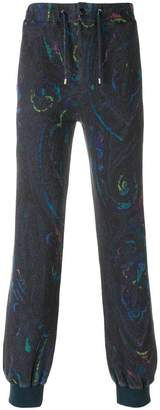 Etro paisley print track pants