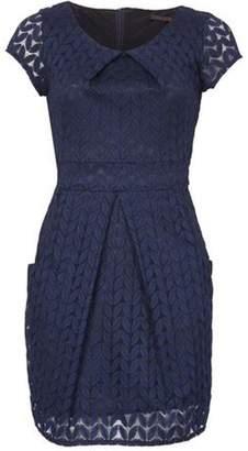 Dorothy Perkins Womens *Tenki Navy Plain Tulip Bodycon Dress