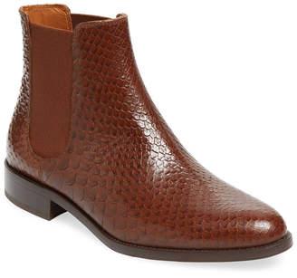 Aquatalia Yulia Printed Leather Chelsea Boot