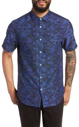 Good Man Brand Slim Fit Cannes Camo Sport Shirt