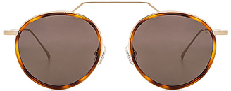 illesteva Wynwood Aces Flat Lens in Metallic Gold. $220 thestylecure.com