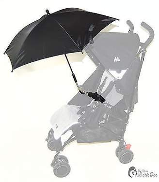 Koochi for-Your-Little-One FYLOKOCLIPARB Parasol Compatible with Litestar Pushmatic Sneaker Speed, Black