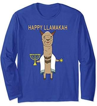 Cute Funny Trendy & Unique Llama Hanukkah T-Shirt & Gift