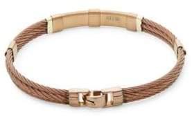 Alor 18K Yellow Gold & Bronze Cable Bracelet
