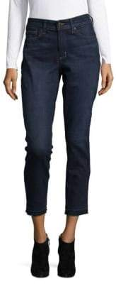 NYDJ Frayed Skinny Jeans