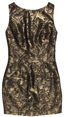 Pierre Balmain Metallic Mini Dress w/ Tags