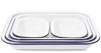 Falcon Enamel Baking Dishes Set Of Five