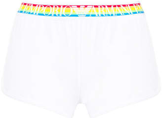 Emporio Armani rainbow elasticated wide briefs