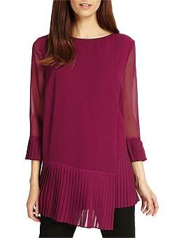 Phase Eight Ellanore Pleat Blouse