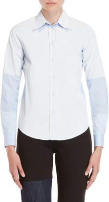 MM6 MAISON MARGIELA Blue Stripe Shirt